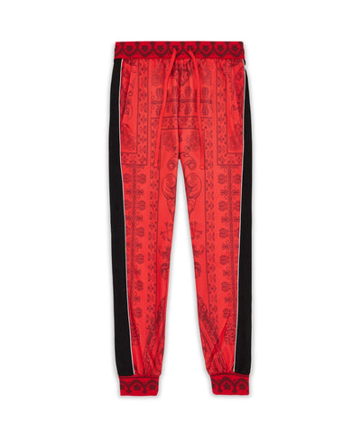 Reason Clothing Corinthian Track Pants - Red