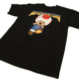 Entree Lifestyle Magic Mushroom Doom Toad Tee - Black