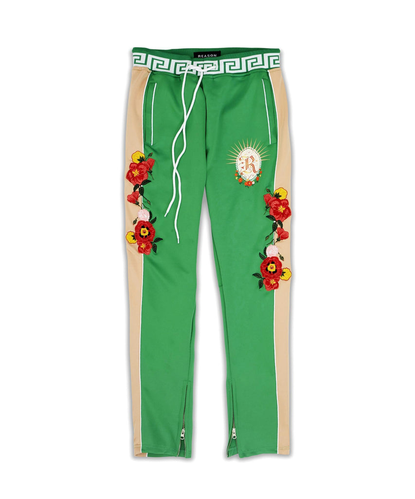 Reason Clothing Ivydale Track Pants - Green