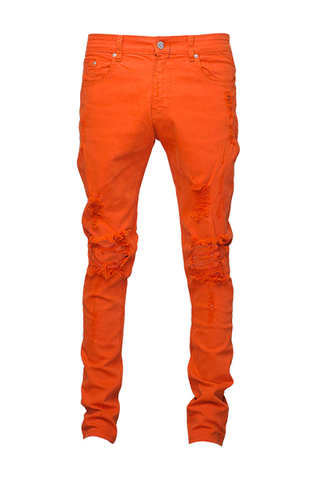 Paraval Co Jacob Orange Selvedge Denim Jean