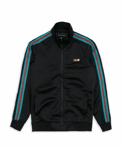 Reason Clothing Verona Track Jacket - Black
