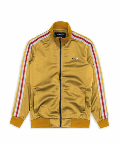 Reason Clothing Bowery Track Jacket - Gold