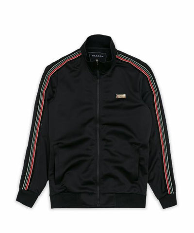 Reason Clothing Windsor Track Jacket - Black