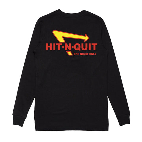 SoleBoy Co Hit N Quit Longsleeve T-Shirt - Black