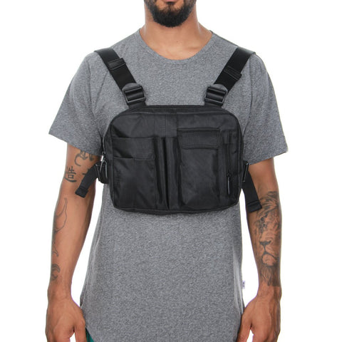 EPTM Los Angeles Black Chest Bag
