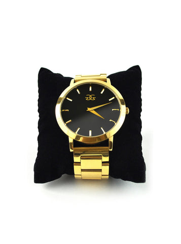 The Gold Gods Vigilate Watch Gold Band - Gold