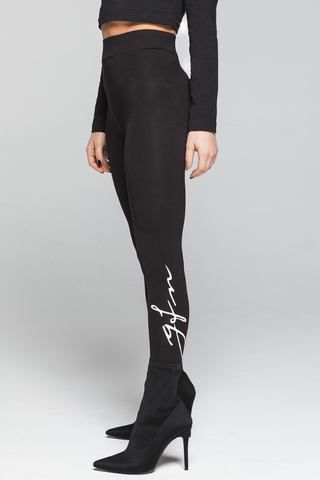 Good For Nothing GFN HER Autograph Leggings - Black