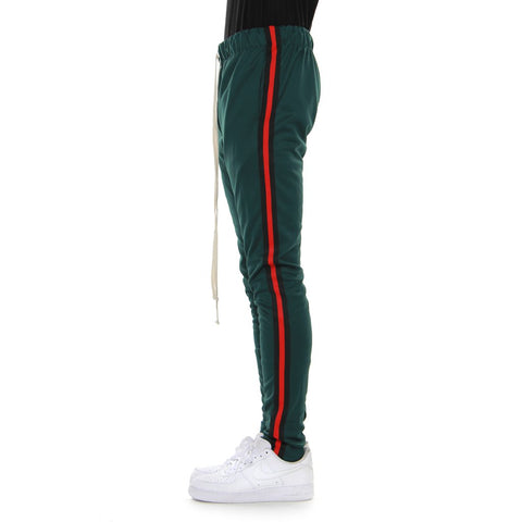 EPTM H.GREEN/BLACK/RED-TAPED TRACK PANTS