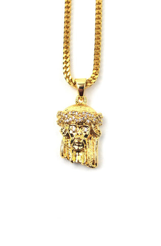 The Gold Gods Micro Jesus Piece - Gold