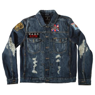 POSH DENIM DISTRESSED JACKET