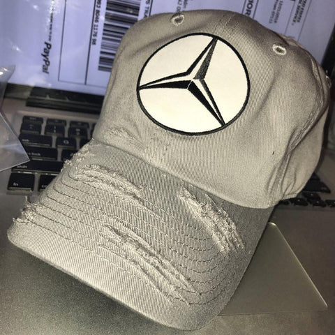 By Lee Apparel Benz Distressed Dad Hat - Select Colour Below