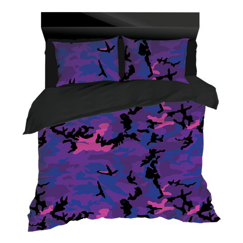 Night Shift Goods PURPLE DRANK CAMOFLAGE Bedding