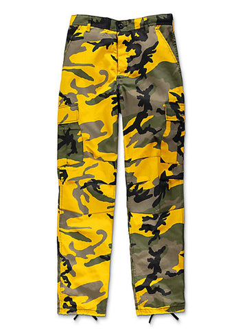 Rothco Brand Tactical BDU Pant - Stringer Yellow Camo