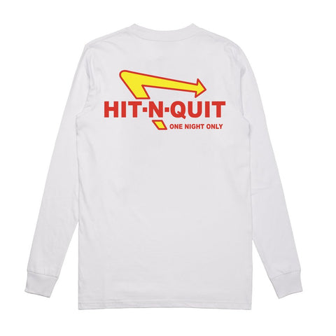 SoleBoy Co Hit N Quit Longsleeve T-Shirt - White