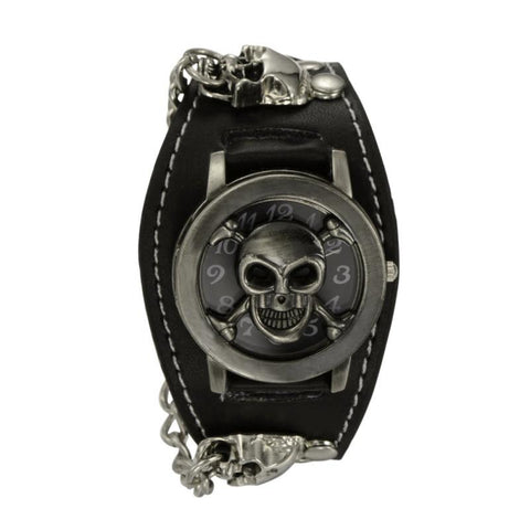 Chain Skull Gothic Wrist Watch
