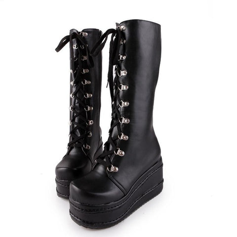 Gothic Punk Boots for Women