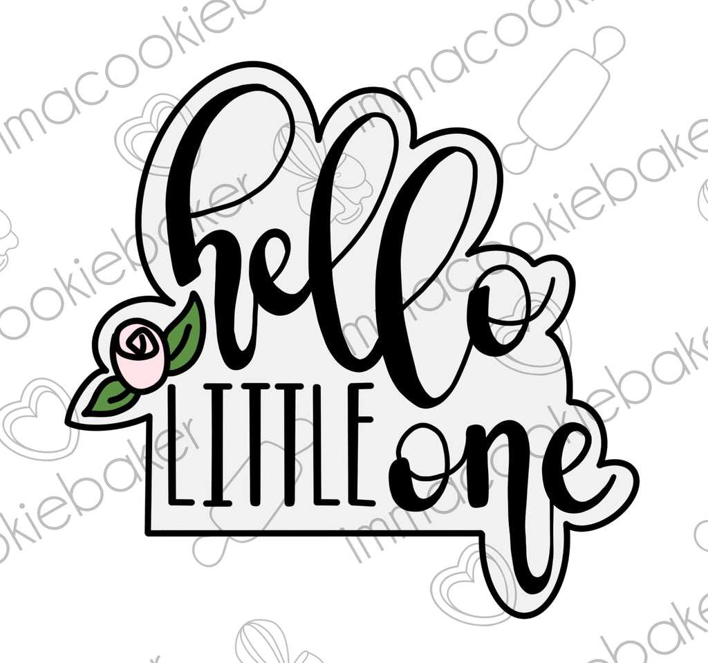Hello Little One Plaque