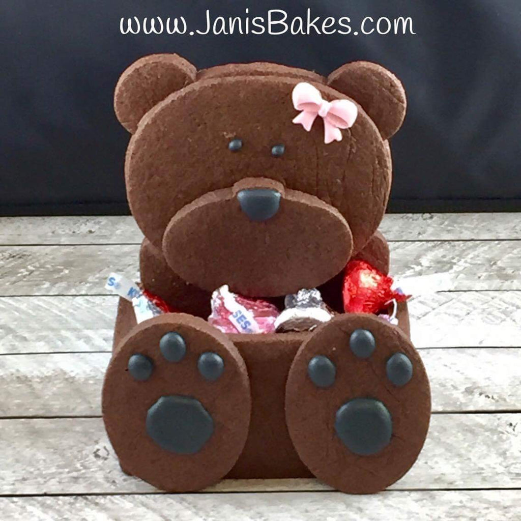 Bear 3D Cookie Box Set