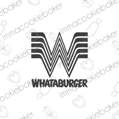 SILK Stencil - TEXAS - Whataburger
