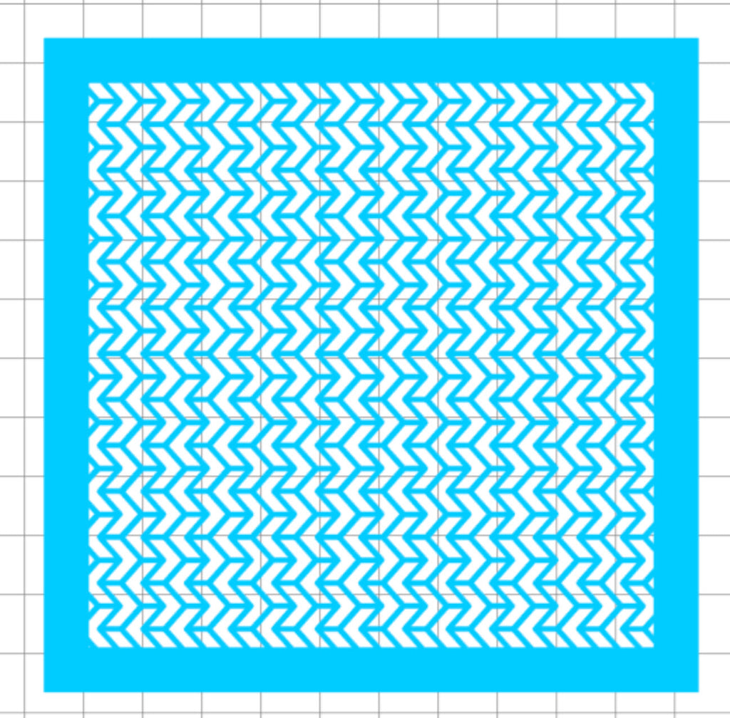 Stencil - Chevron Knit