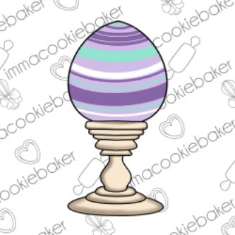 Farmhouse Easter Egg Candlestick