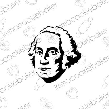 Stencil - President Washington