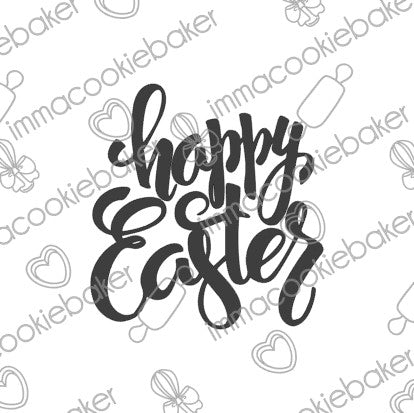 SILK Stencil - Happy Easter