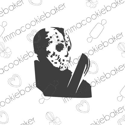SILK Stencil -  HORROR - Jason