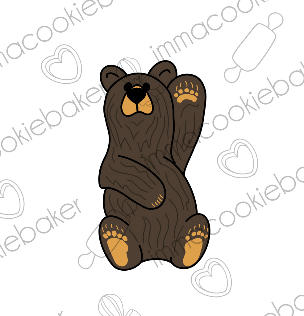ADD-ON - Rustic/Cabin Carved Bear