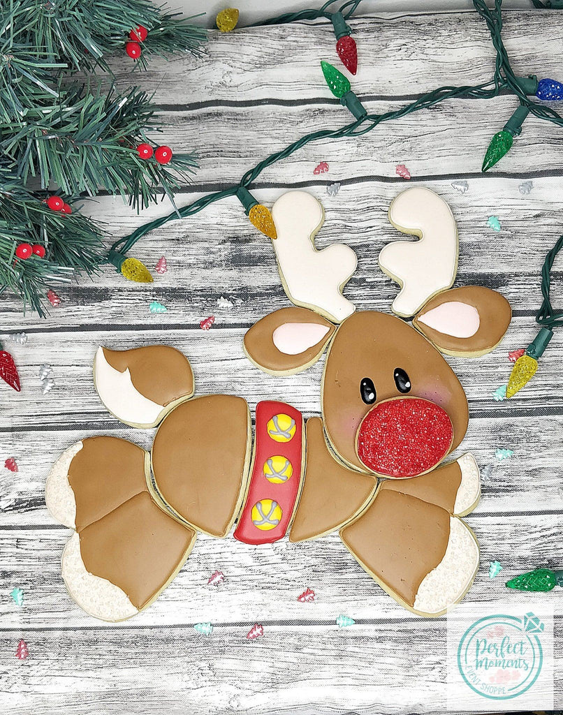 STL DOWNLOAD - On Dasher (Reindeer) Platter