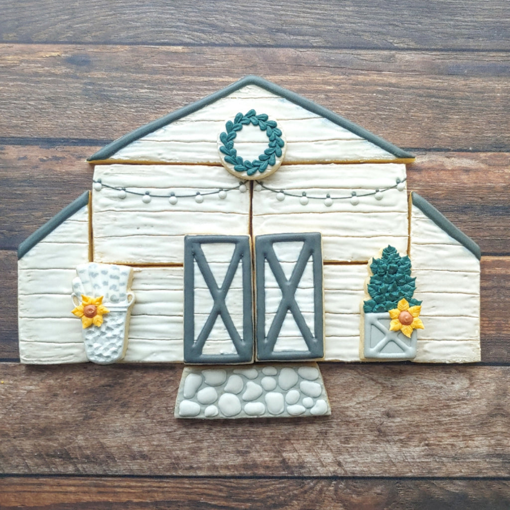 STL DOWNLOAD - Rustic Barn Platter
