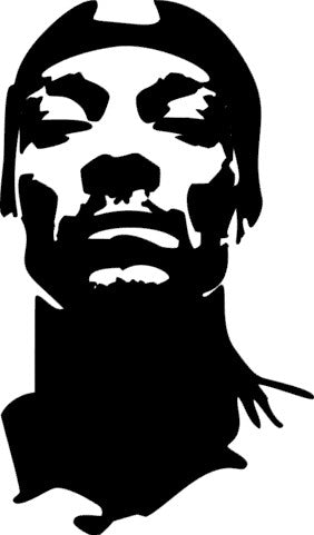 SILK Stencil - Snoop
