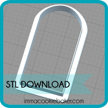 STL DOWNLOAD - Porch Platter Add-On Curved Door