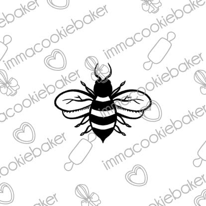 SILK Stencil - TATTOO Bee