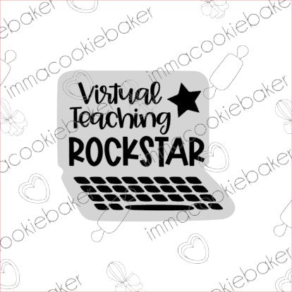 SILK STENCIL - BTS Virtual Teaching Rockstar