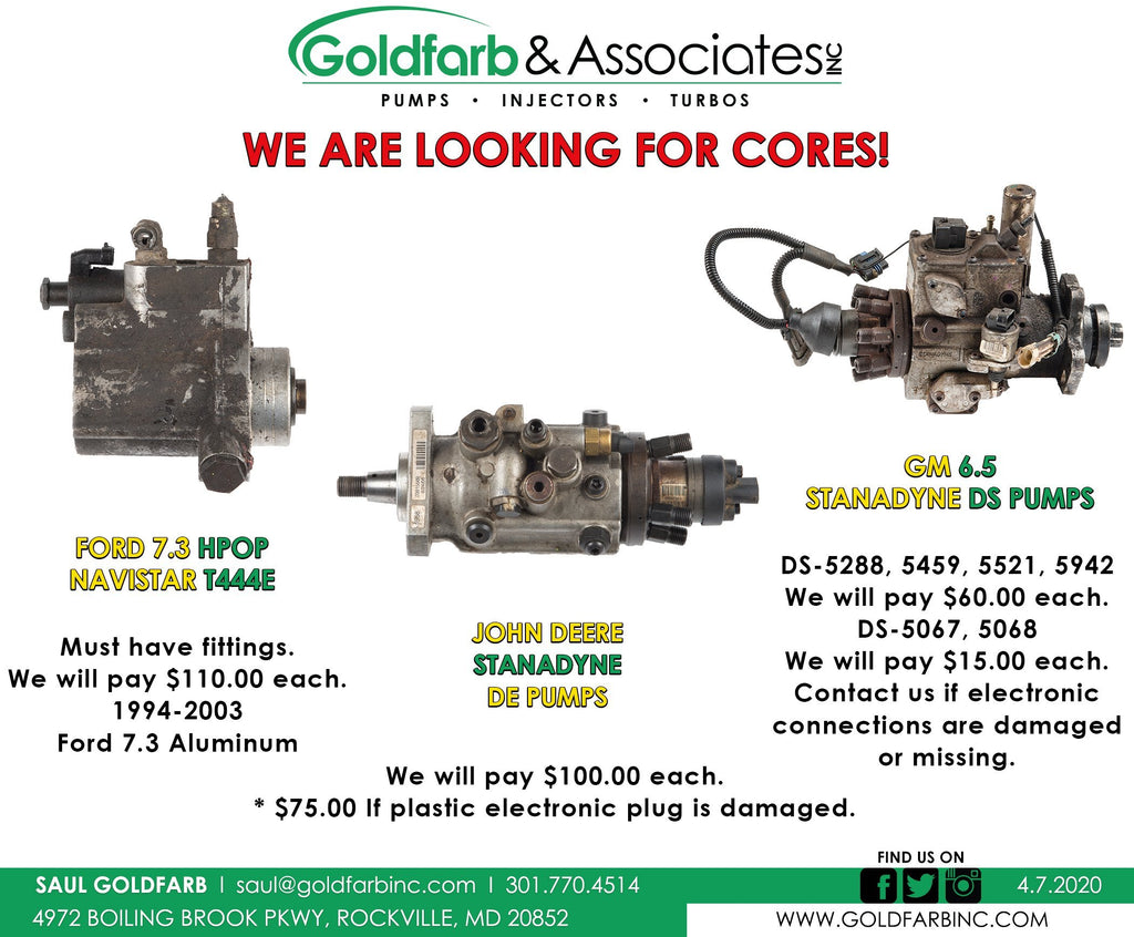 We are looking for Cores!