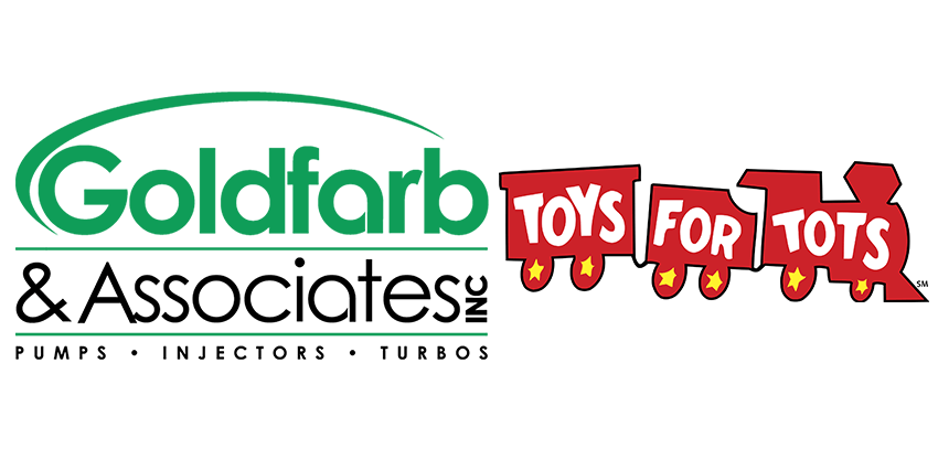 Goldfarb and Associates is contact free drop off for Marine Corps Toys for Tots Drive