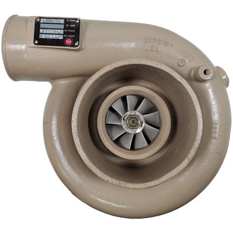 042385B4 Rebuilt Cummins T44B Turbocharger Fits Diesel Fuel Performance Truck Engine - Goldfarb & Associates Inc