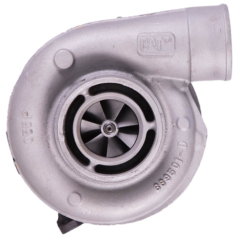 0R7586 (171717) Rebuilt Caterpillar S200S044 Turbocharger Fit 2000-09 Truck 3126B Engine - Goldfarb & Associates Inc