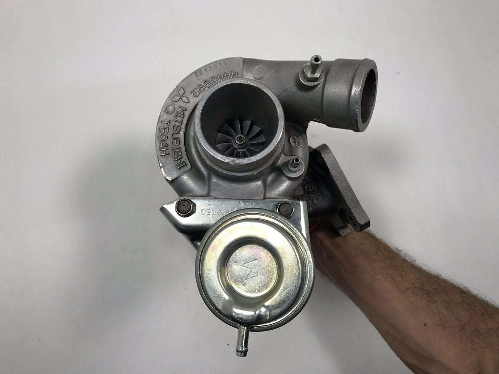 49183-02010 (4448992) Rebuilt Mitsubishi TE04HCA Turbocharger fits Chrysler Engine - Goldfarb & Associates Inc