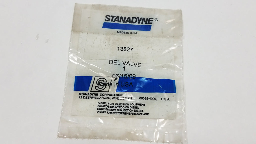 13827 New Stanadyne Delivery Valve