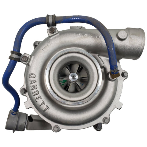 1836092C92 (715137-0005) Rebuilt Garrett GT3776D Turbocharger International DT466 Engine - Goldfarb & Associates Inc