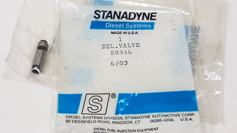 28946 New Stanadyne Delivery Valve - Goldfarb & Associates Inc