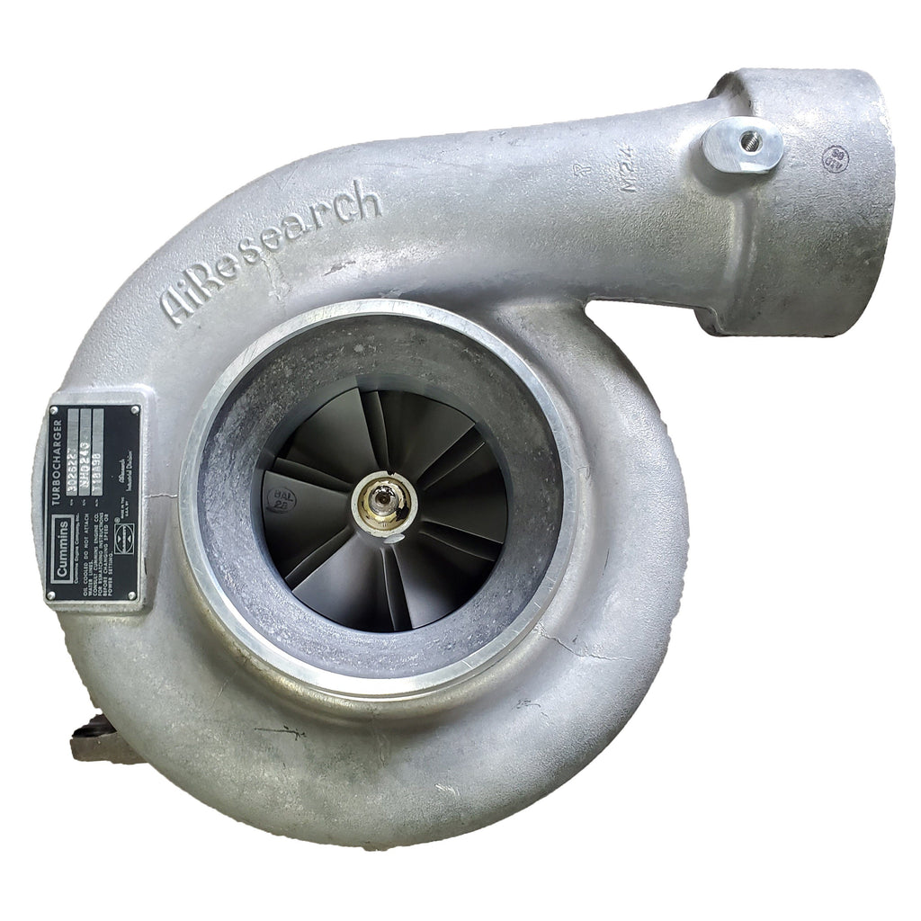 3026227 (3016310) New AiResearch T18A98 Turbocharger Fit Cummins NTE350 NTA50 Engine - Goldfarb & Associates Inc
