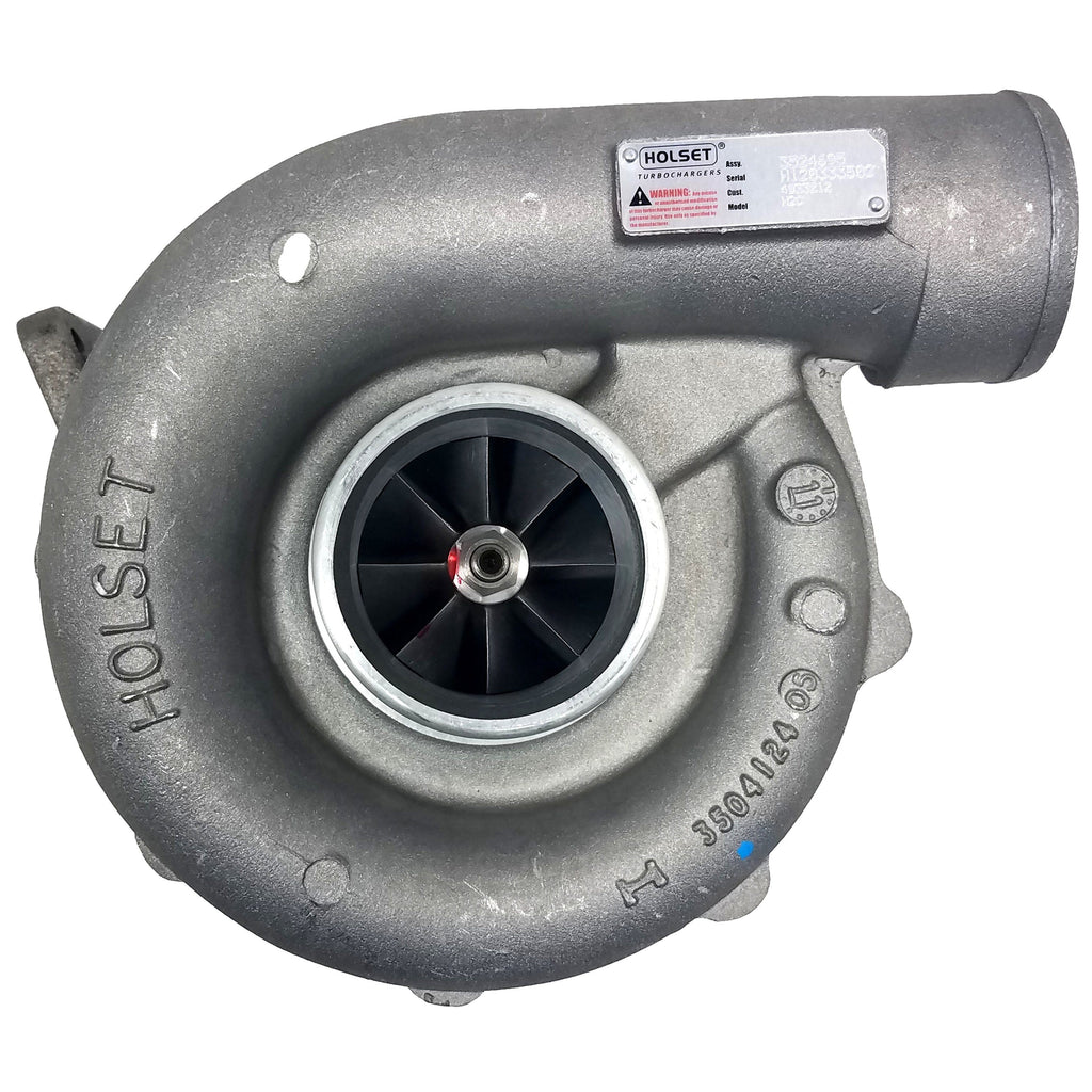 3524695 (5000670624) New Holset H2C Turbocharger fits MIDR062045 Engine - Goldfarb & Associates Inc