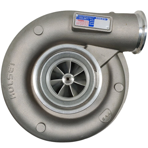 4037344 (11423338; 3587945) New Holset HX55 Turbocharger Fits Volvo D12 Hauler Engine - Goldfarb & Associates Inc