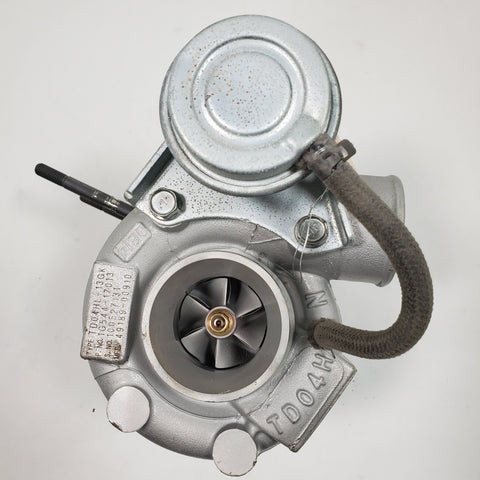 49189-00910 (1G544-17013) Mitsubishi Kubota TD04HL Turbocharger Rebuilt - Goldfarb & Associates Inc