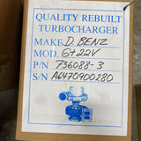 736088-0003 (6470900280) New Garrett Sprinter GT2256 Turbocharger fits OM647 (DE LA 27, NAFTA) - Goldfarb & Associates Inc