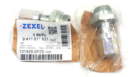 9-411-611-631 (131425-0520) New Zexel Over Flow Valve - Goldfarb & Associates Inc