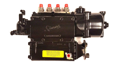 P4038 (SPE4A70S296) Rebuilt Simms Injection Fuel Pump Fits Fordson Major Diesel Engine - Goldfarb & Associates Inc